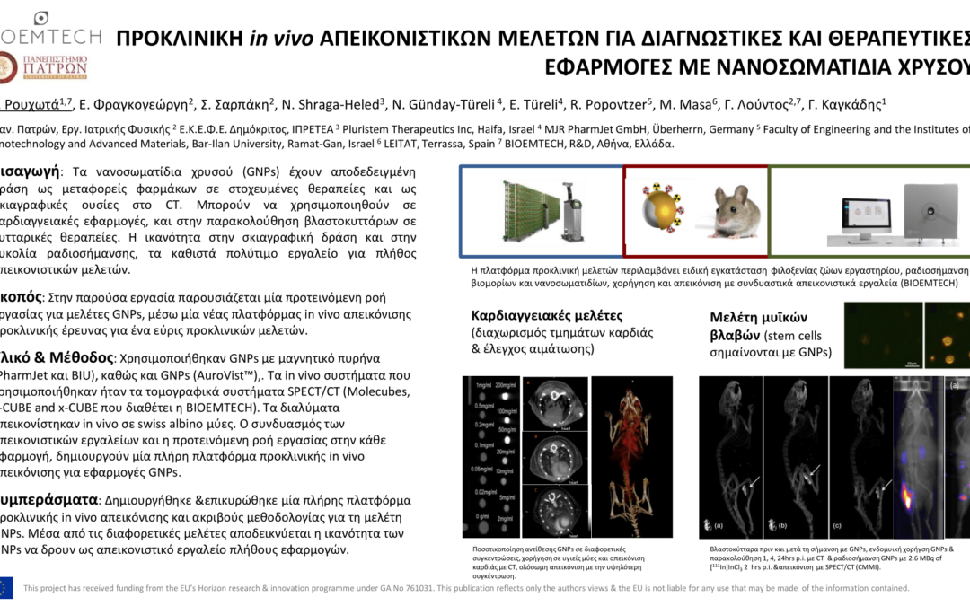 BIOEMTECH wins 3rd Best Poster Award at 24th Greek Ιnterdisciplinary Radiology Conference